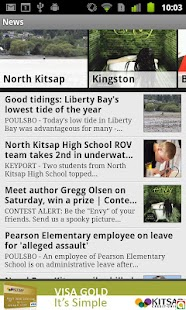 North Kitsap Herald - screenshot thumbnail