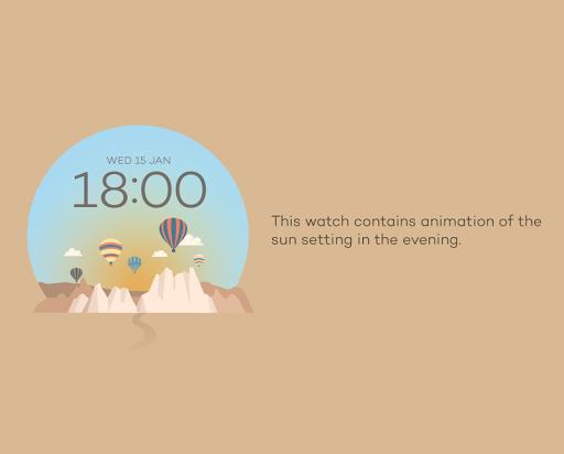 Cappadocia watchface by Sol
