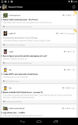 Brickpicker Community App