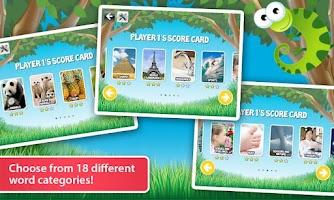Screenshot of Kindergarten Spelling for Kids
