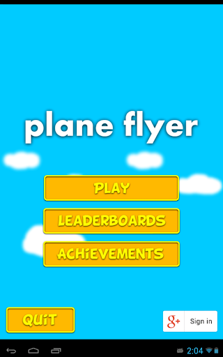 Plane Flyer