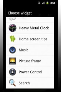 Heavy Metal Clock - screenshot thumbnail