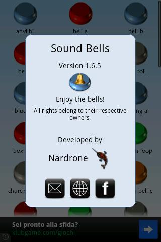 Sound Bells - screenshot