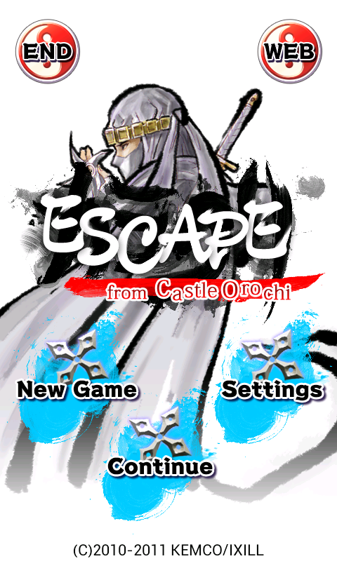 Escape from Castle Orochi - screenshot