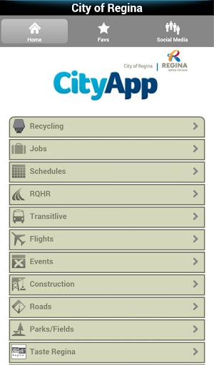 City of Regina CityApp