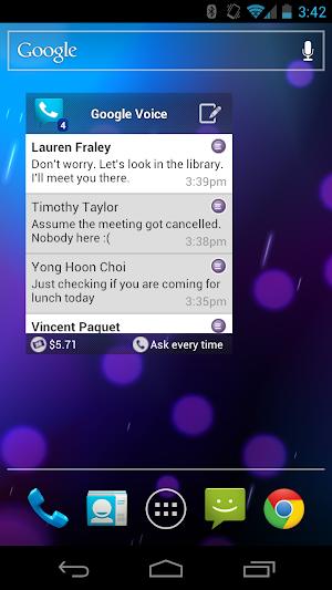4 Google Voice App screenshot