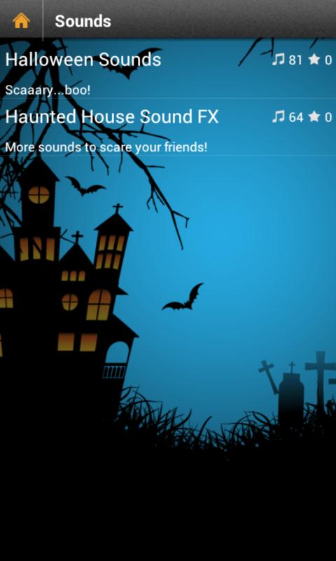 halloween sounds free screenshot - Free Halloween Sounds Mp3