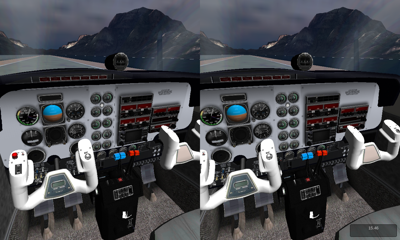 VR Flight Simulator - screenshot