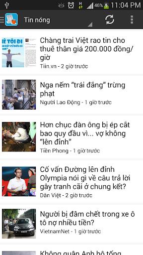 Đọc báo - Tin tức nóng 24h