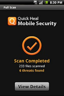 Quick Heal Mobile Security Fre - screenshot thumbnail