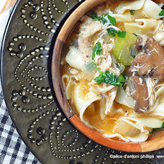 Chicken Marsala Soup.