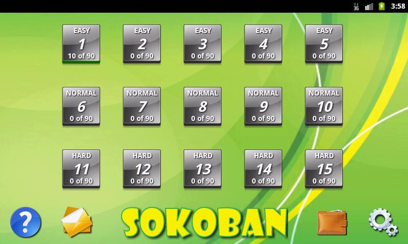 Sokoban- screenshot