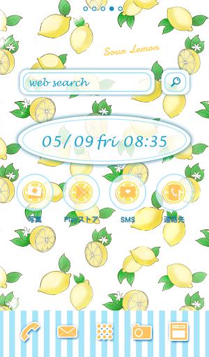 可愛換裝桌布★Sour lemon