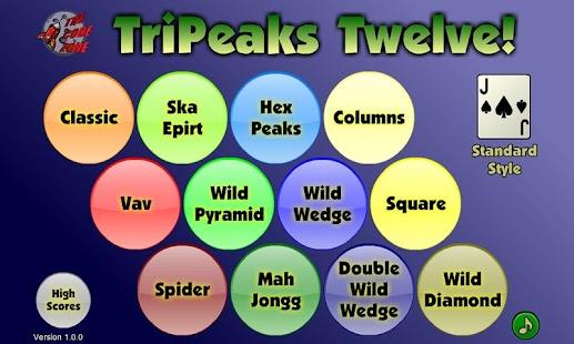 TriPeaks Twelve- screenshot thumbnail