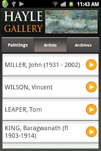 Hayle Gallery- screenshot thumbnail