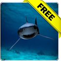 Killer shark lwp Free icon