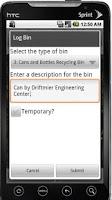 Screenshot of WeRecycle