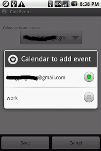 Call Event- screenshot thumbnail