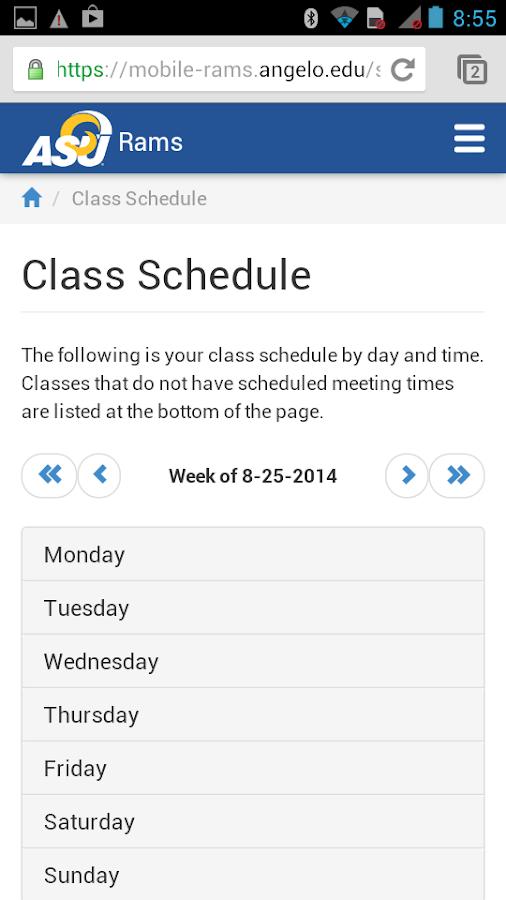 ASU Mobile - screenshot