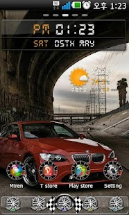 Racing Go Launcher theme