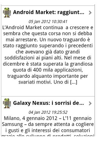News for Android, do you know?- screenshot
