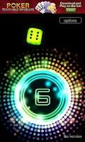 Screenshot of Neon Dice 3D Lite