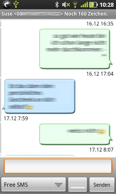 Gschickt PRO (Messaging)- screenshot