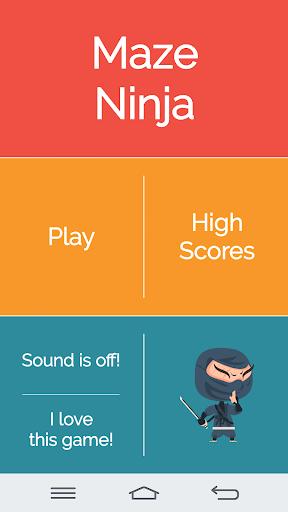 迷宫 : Maze Ninja