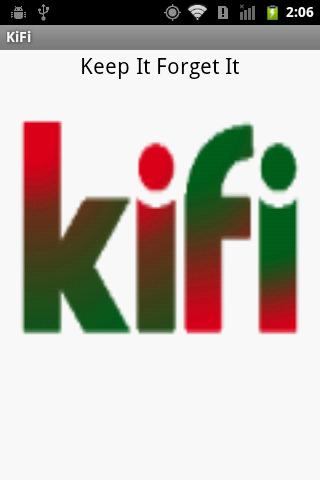 KiFi - Keep it Forget it