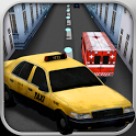 Taxi Racing Crazy Run Free icon