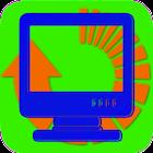 Bandwidth converter icon