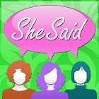 She Said - Quotes for Women icon