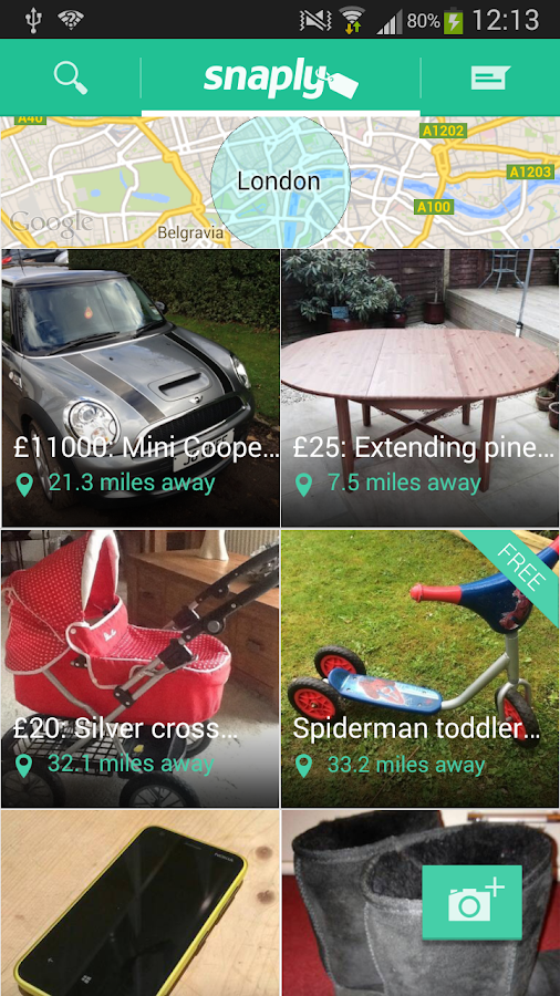 Snaply: Sell stuff simply- screenshot
