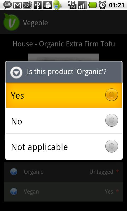Vegan Scanner- screenshot