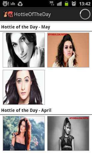 MTV Hottie Of The Day