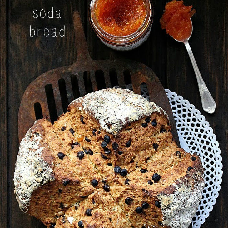 Chocolate and Orange Soda Bread