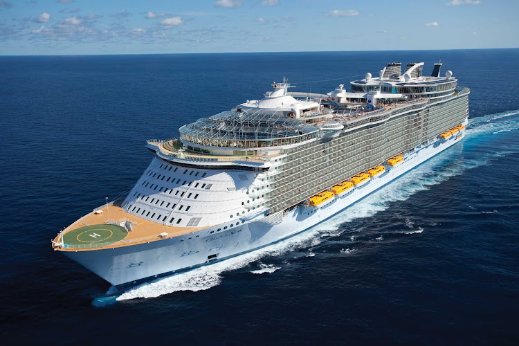 Royal Caribbean's Oasis of the Seas is the world's largest cruise ship, with groundbreaking innovations such as the Boardwalk and Central Park.