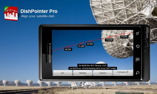DishPointer Pro - screenshot thumbnail