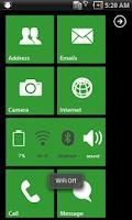 Screenshot of MXHome Theme Windroid7 Free