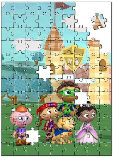 Kids Puzzle Game Super Why