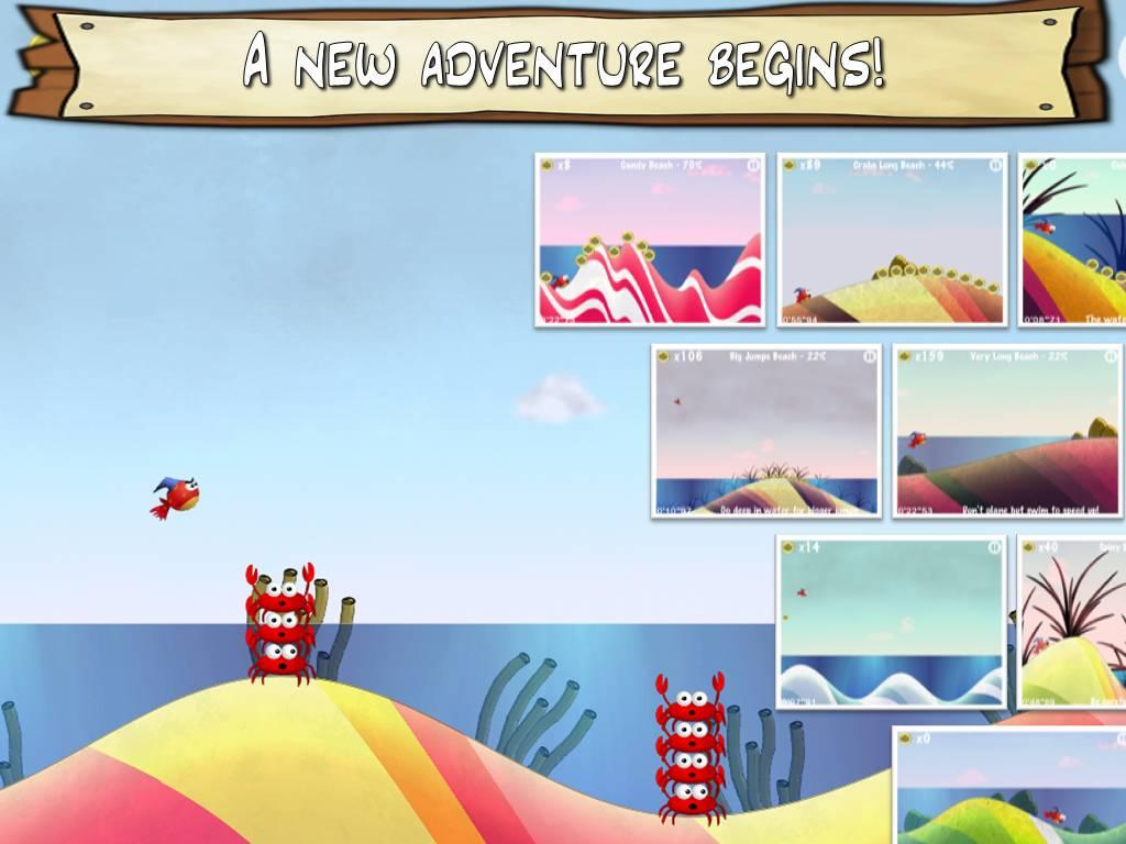 Jump & Splash-tiny Wings Fish - screenshot