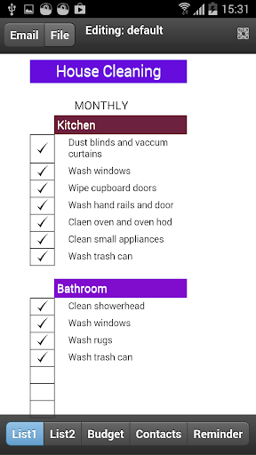 Monthly Home Cleaning