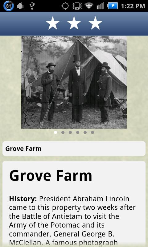 Maryland Civil War Trails - screenshot