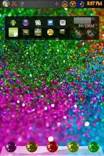 Go Launcher Theme GlitterGlam - screenshot thumbnail