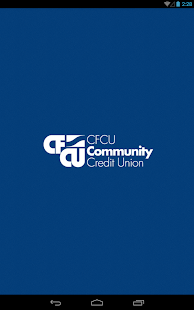 CFCU Community CU Tablet- screenshot thumbnail