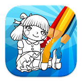 Doll Coloring Game
