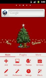 GO Launcher EX Theme Christmas - screenshot thumbnail