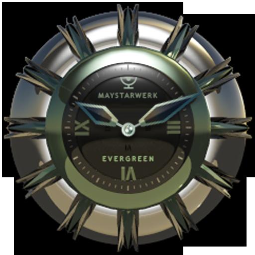 Clock Widget Evergreen