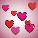 Love Hearts LiveWallpaper icon