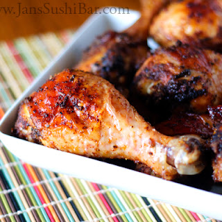 Mexican-Spiced Drumsticks.